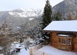 Chalet Teremok in winter