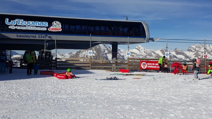 La Tzoumaz Savoleyres - just 8 minutes gondola ride to 2,347 metres