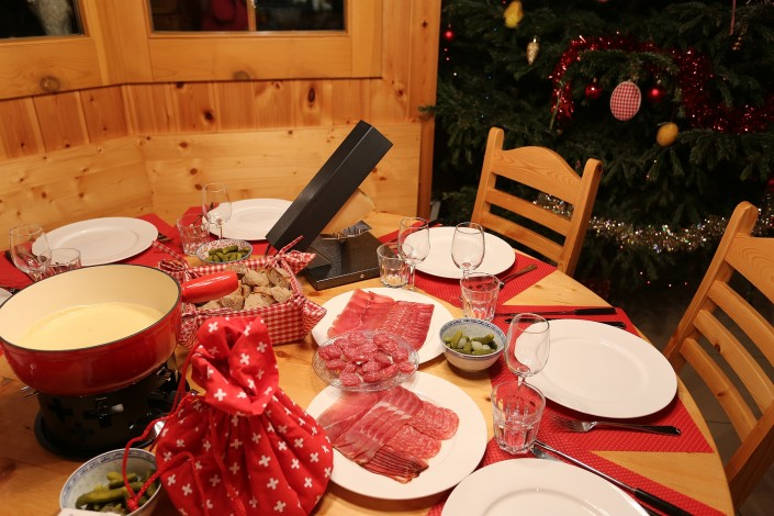 Why not have a raclette? - a traditional Swiss mountain speciality for a quick and easy dinner