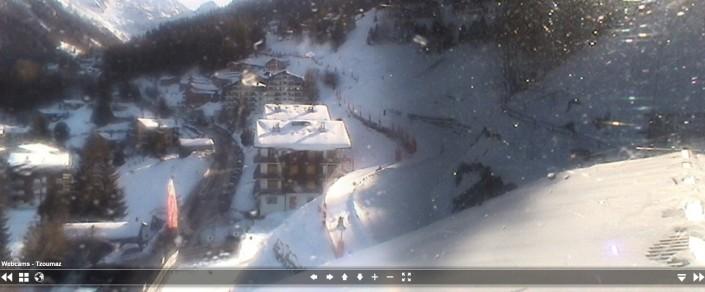 La Tzoumaz Village web cam